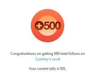 500followersWordPress