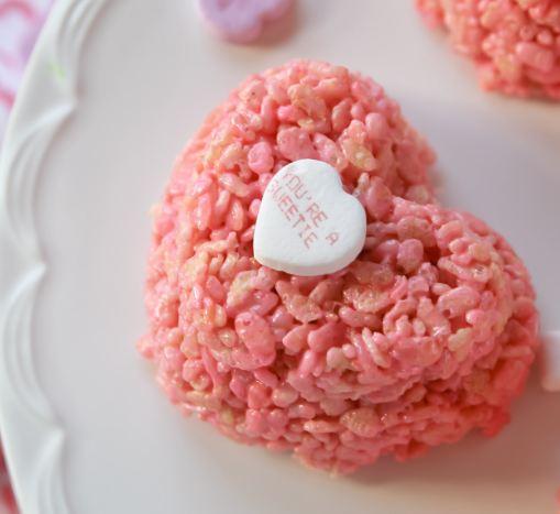How To Make Rice Crispy Treats Cake Boss