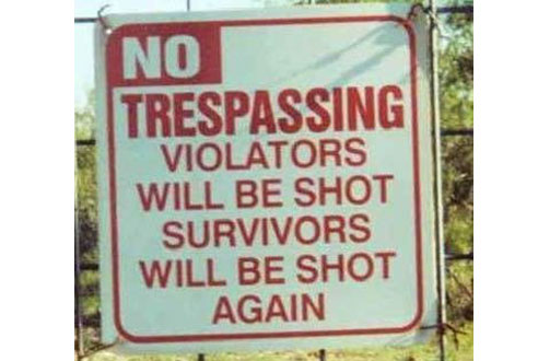 Trespassing-af